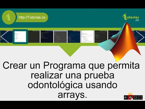 arrays – matLab (examen odontologico)