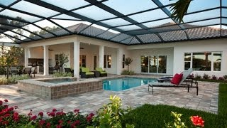 New Homes For Sale at the Founders Club in Sarasota, Florida - Isabella II Floor Plan