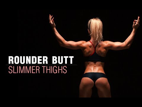 How To Grow Your Butt WITHOUT Getting Thicker Thighs (GLUTE ISOLATION WORKOUT!!)