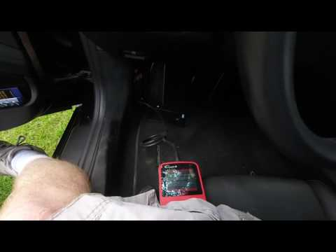 Cresetter II on Porsche Boxster 981 oil reset