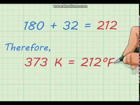 Convert Kelvin to Fahrenheit