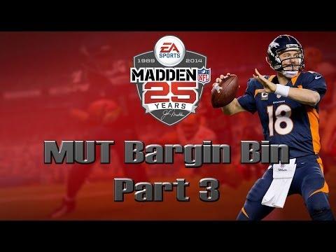 Madden 25 Ultimate Team | MUT Bargin Bin [Part 3]
