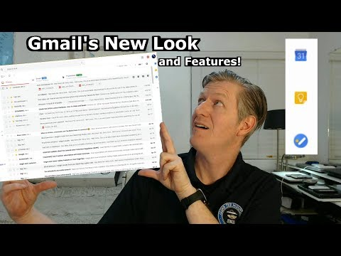 Gmail's New Look and Features! 2018