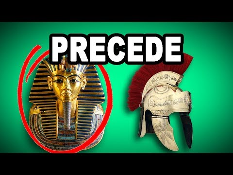 Learn English Words: PRECEDE - Meaning, Vocabulary with Pictures and Examples