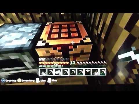 How to make an iron pickaxe on minecraft ( Xbox 360 )