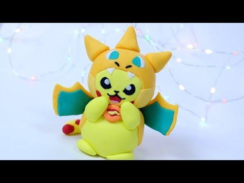 How to make Pokemon Pikachu cake topper!