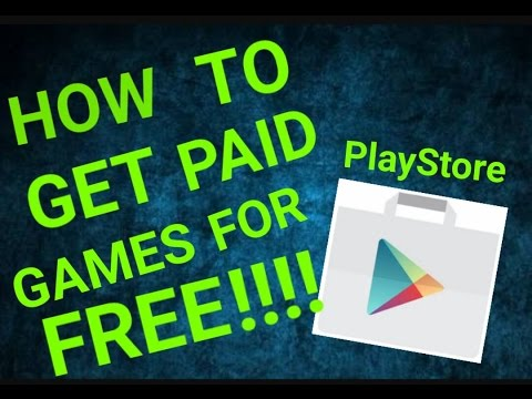 HOW TO GET PAID GAMES FOR FREE!!! ON ANDROID(NO ROOT)