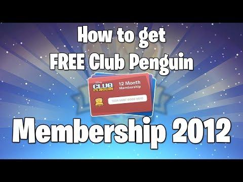 How To Get Free Club Penguin Membership!!!