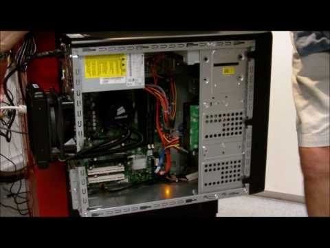 Installation of the Corsair H50 and AMD CPU Upgrade - PART TWO