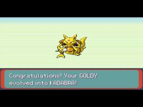 Abra Evolving To Kadabra [Pokémon Emerald]