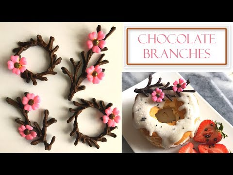 How to Make Chocolate Branches | Simple & Easy