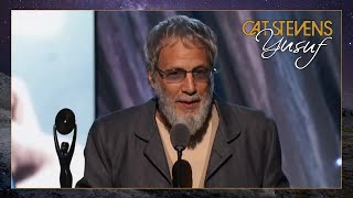 Yusuf / Cat Stevens – Rock and Roll Hall of Fame Induction Ceremony (2014)
