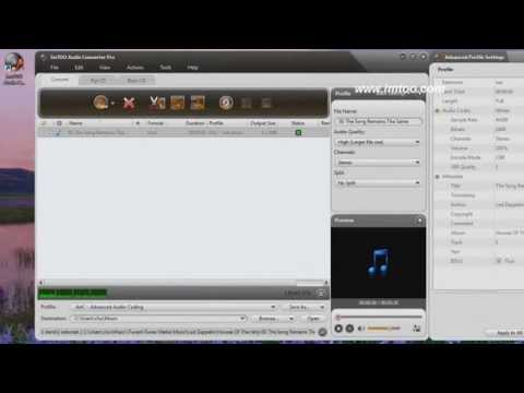 Audio Converter Pro: Convert Audio Files, Extract Audio from Video, Rip CDs, and burn CDs