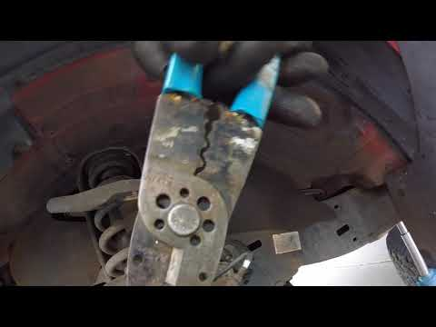 How To Replace Brakes 2004-2009 Toyota Tacoma. Hard way and Easy way