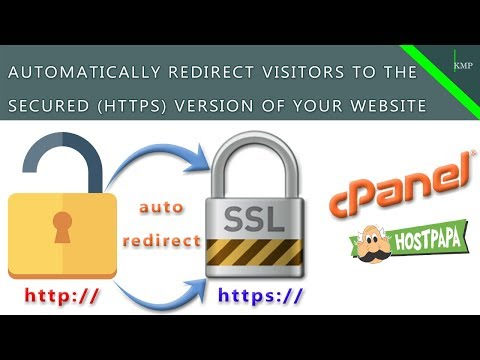 Automatically Redirect Your Website's HTTP Traffic To HTTPS - cPanel