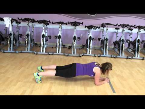 Tips on Holding a Plank for Time!!