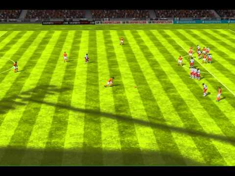 FIFA 13 iPhone/iPad - James FC vs. Spartak Moskva