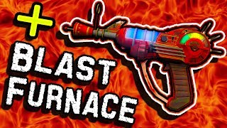 How To Put BLAST FURNACE on The  R A Y G.  U.  N.