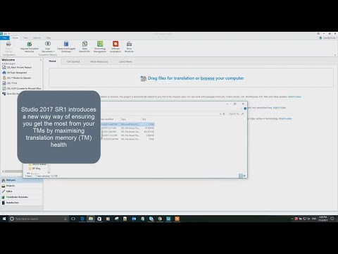 How to upgrade translation memories in SDL Trados Studio 2017