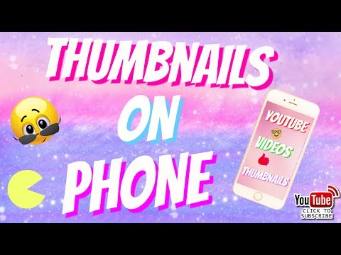 HOW TO ADD A THUMBNAIL👌 TO A YouTube Video 2017 ➡IPhone &Android ⬅
