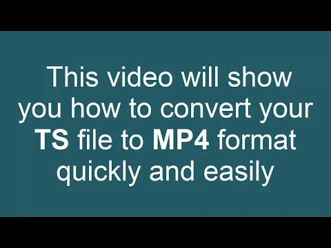 How to Convert TS to MP4