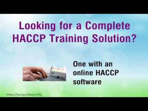 HACCP Training Video - HACCP Certification Made Easy!