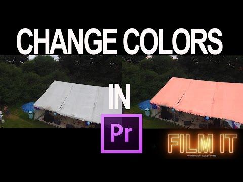 Change Colors In Premiere Pro cc 2015.3