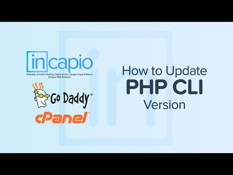 How to Update PHP CLI Version on GoDaddy's Web Hosting | cPanel | 2018
