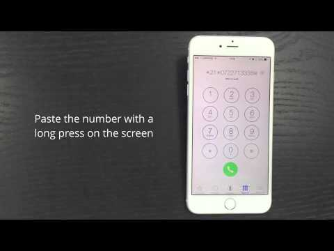 Incoming Calls - Activate Call Forward