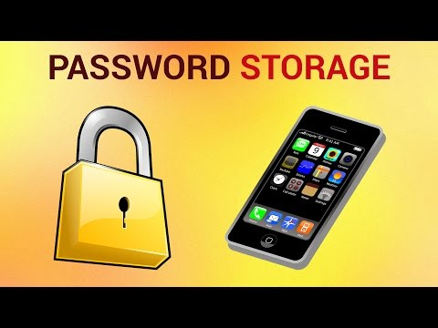 Best Password Storage for iPhone and iPad