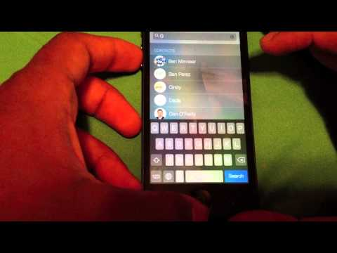 iOS 7 Overview and Demo