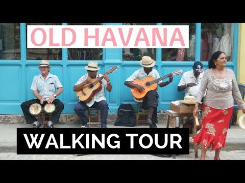 Old Havana Walking Tour: Cuba Vlog Day 2 | JoAnna E