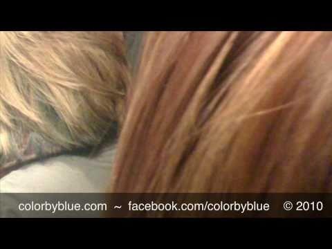 Blonde To Golden Copper - Corrective Hair Color