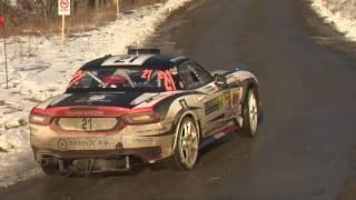 Abarth 124 rally all85 rally di monte carlo montecarlo 2017 prove speciali