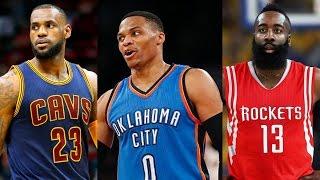 Russell Westbrook vs LeBron James vs James Harden, 2017 NBA MVP Race: Who Ya Got? -Fumble Extra Time