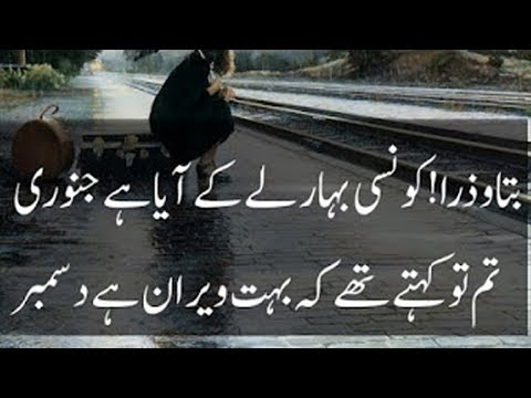2 line New Heart Touching Urdu Poetry|mohabbat poetry 2