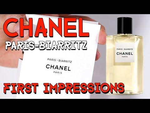 LES EAUX DE CHANEL - PARIS - BIARRITZ - first impressions
