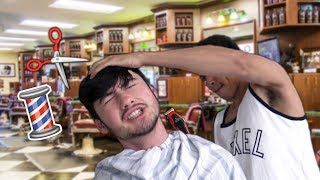 TYPES OF PEOPLE AT THE BARBER SHOP