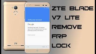 ZTE Blade V7 Lite 6 0 FRP Bypass Solución SIN PC Cuenta Google