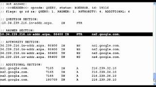 Download Reverse Dns Lookup With Dig Video