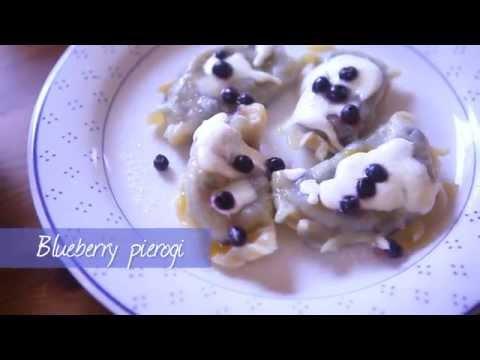 Blueberry pierogi | Video recipe