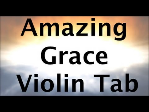 Learn Amazing Grace Ver 2 on Violin - How to Play Tutorial