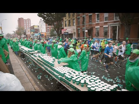 International visitors are the largest group of volunteers at the NYC Marathon