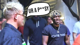 KSI tried to FIGHT ME backstage