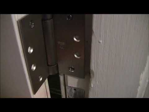 DIY Self Closing Door Hinge Installation Tutorial