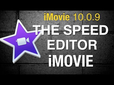 The Speed Editor in iMovie 10 - 2015