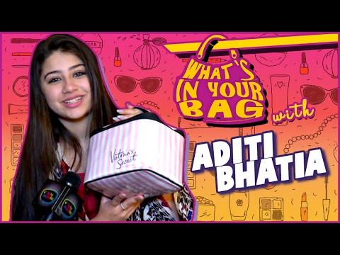 Aditi Bhatia aka Ruhi's Handbag SECRET REVEALED | What's In Your Bag
