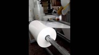 two side sealing bubble mailer machine