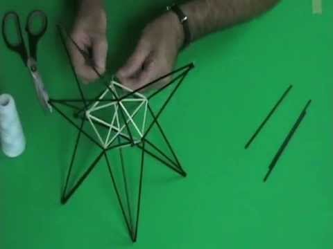 Straw Diagram #2: Stellated Decahedron by DJ JAB and DJ Simms
