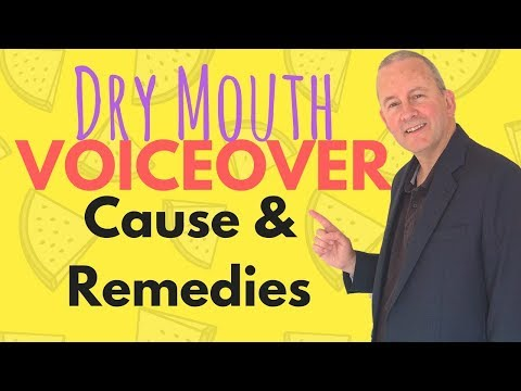 Voice Over Dry Mouth Causes and Remedies